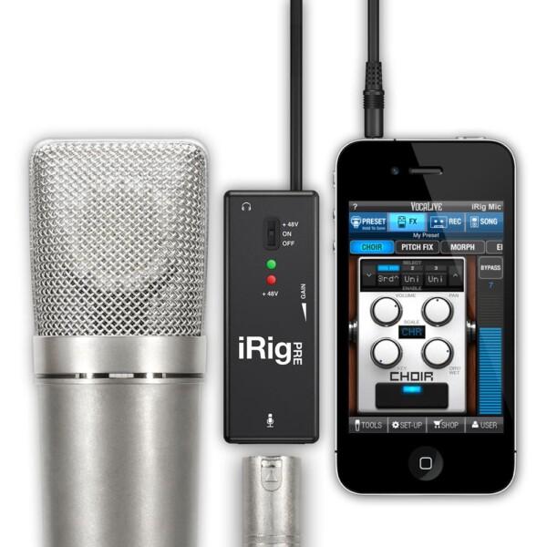 IK Multimedia iRig PRE Microphone Interface