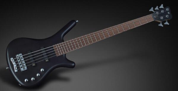 Warwick RB Corvette Basic 5-String, Act/Act, Nirvana Black Transparent Satin