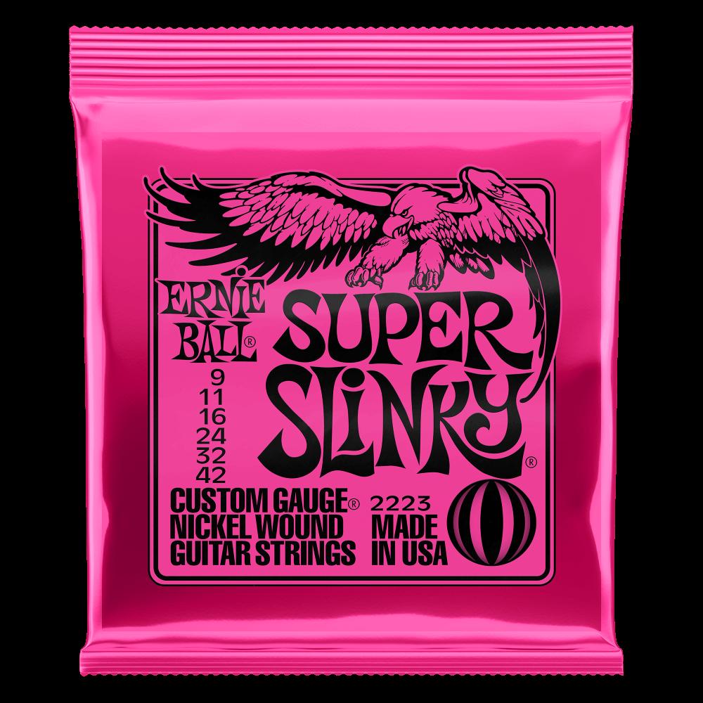 "Ernie Ball Super Slinky Nickel 009""/042"""