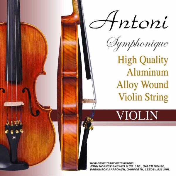 Antoni AVS011F Violin Strings – 4/4 & 3/4 Size