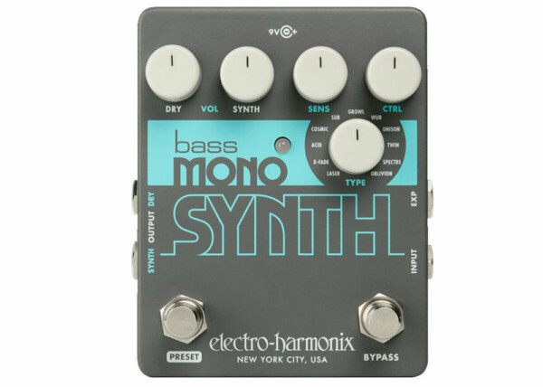 Electro-Harmonix Bass Mono Synth, Bass Synthesizer
