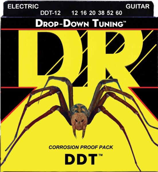 "DR Strings Drop Down Tuning XX-Heavy 012""/060"""