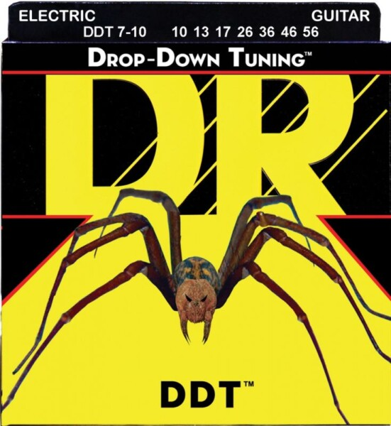 "DR Strings Drop Down Tuning Medium 7-String 010""/056"""