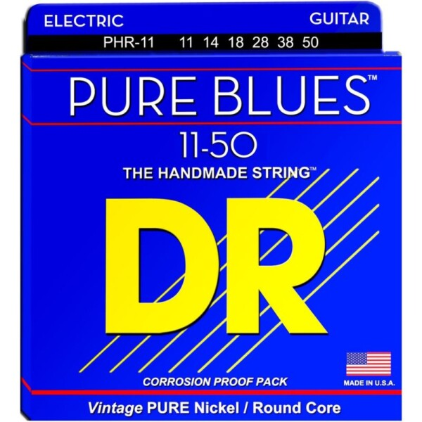 """DR Strings Pure Blues Heavy 011""""/050"""""""
