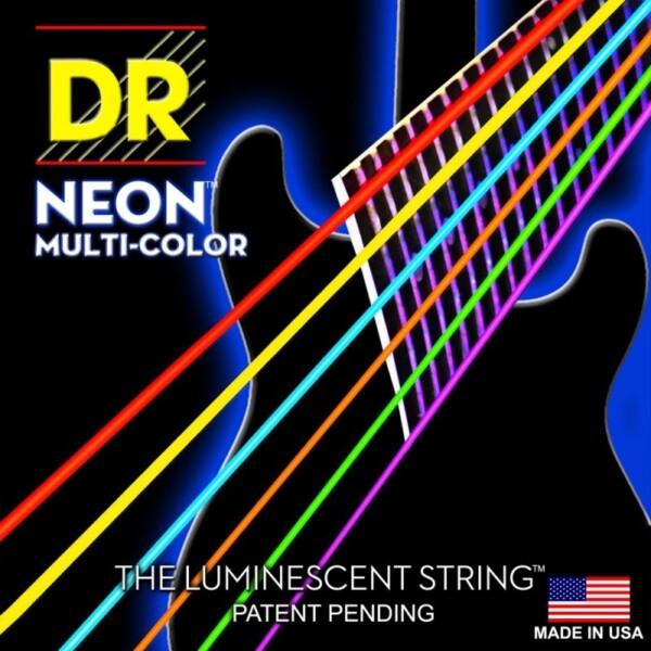 "DR Strings K3 Multi Color Coated Lite 009""/042"""