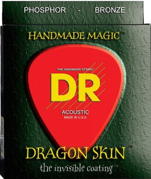 """DR Strings K3 Dragon Skin Acoustic Med-Heavy 013""""/056"""""""
