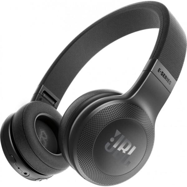 JBL E45BT Wireless Headphones, Black
