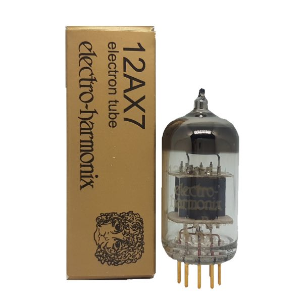 Electro-Harmonix 12AX7EHG Preamp Tube, Gold Pins