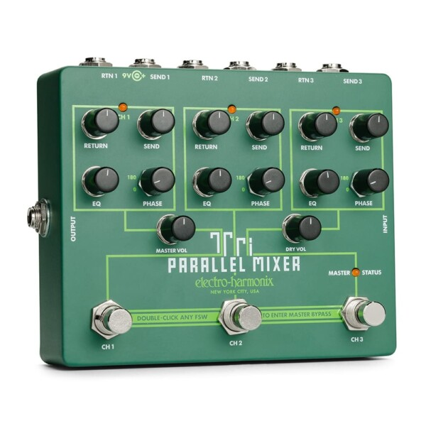 Electro-Harmonix Tri Parallel Mixer Effects Loop Mixer/Switcher