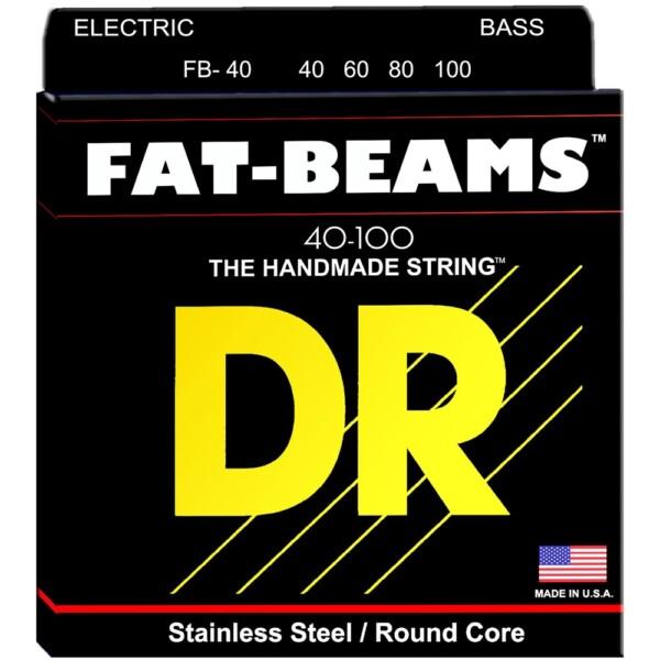 "DR Strings Fat Beam Bass Medium 040""/100"""