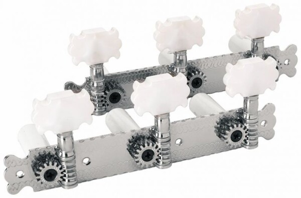 Framus Vintage Mechanic Nickel 3 in Line left, 3 in Line right