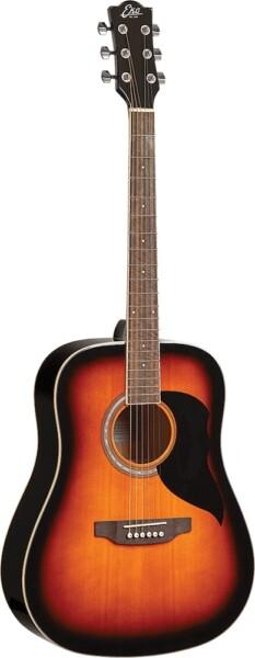 Eko Guitars Ranger 6 Dreadnought, Brown Sunburst