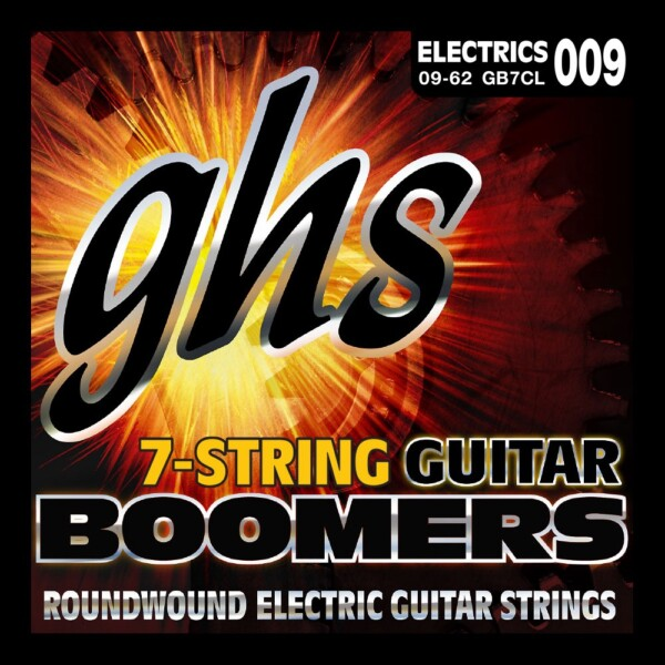 """GHS Boomers 7 Strings 009""""/DY062"""""""
