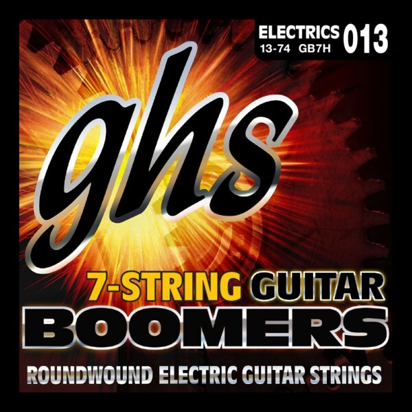 """GHS Boomers 7 Strings 013""""/DY074"""""""