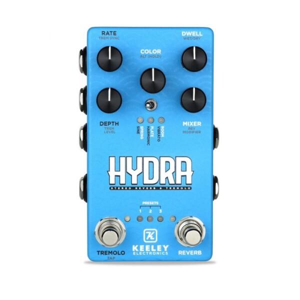 Keeley Hydra Stereo Reverb / Tremolo