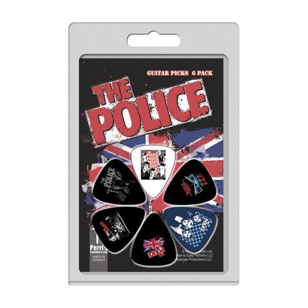 Perri's LP-POL2 6 Pick Pack The Police Union Jack