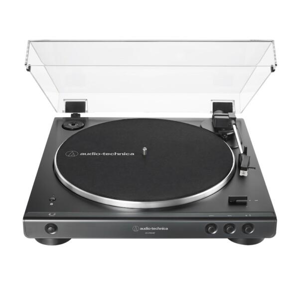 Audio Technica LP60XBTBK Fully Automatic Wireless Belt-Drive Turntable