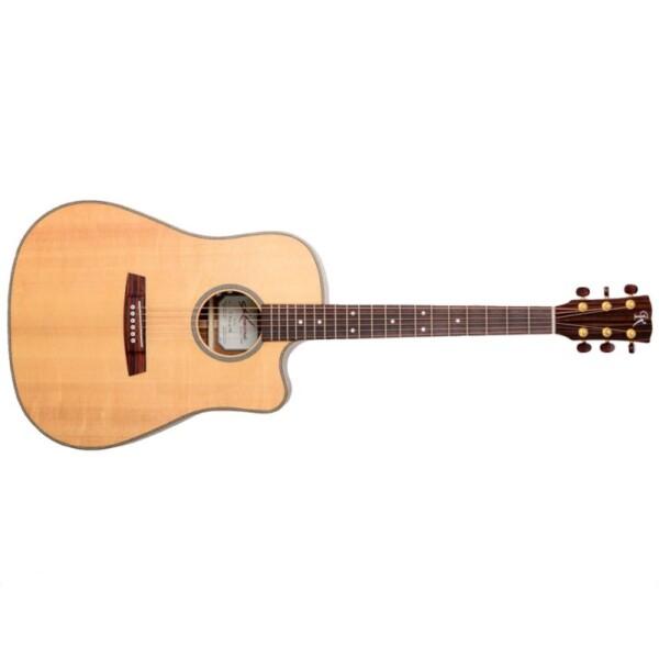 Kremona M20E Electro-Acoustic Guitar w/ Cutaway, Dreadnought