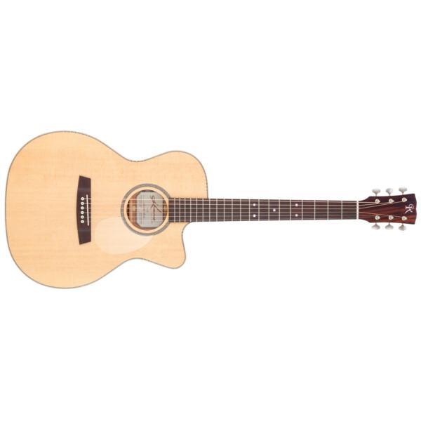 Kremona M25E Electro-Acoustic Guitar, Orchestral Model