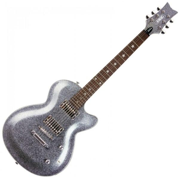 Daisy Rock Elite Candy Electric Guitar, Platinum Sparkle