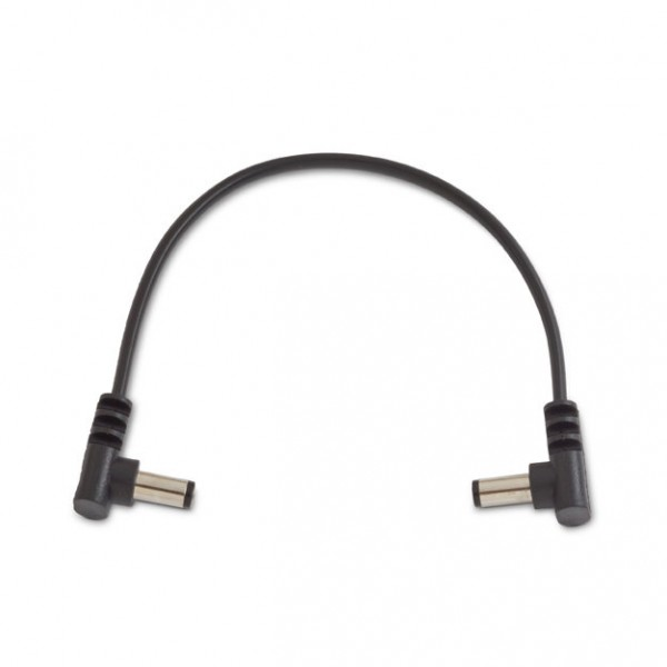 RockBoard Power Supply Cable, 15 cm, Angled/Angled