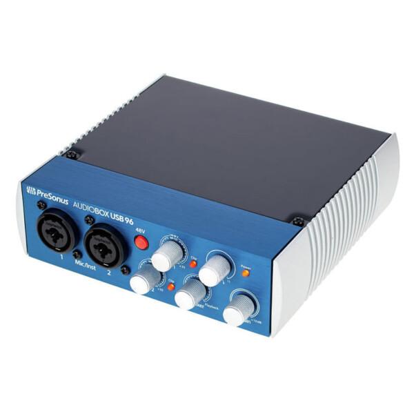 Presonus AudioBox USB 96, 2x2 USB Recording System