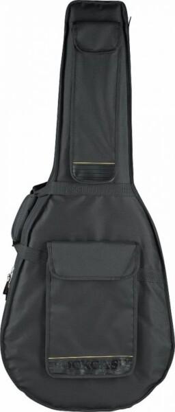 Rockcase Deluxe Super Jumbo Guitar Soft Light Case Black
