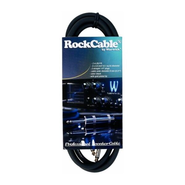 Rockcable Speaker Cable 2m Black