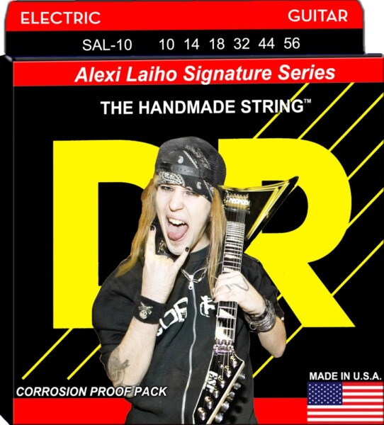 """DR Strings Alexi Laiho Signature 010""""/056"""""""