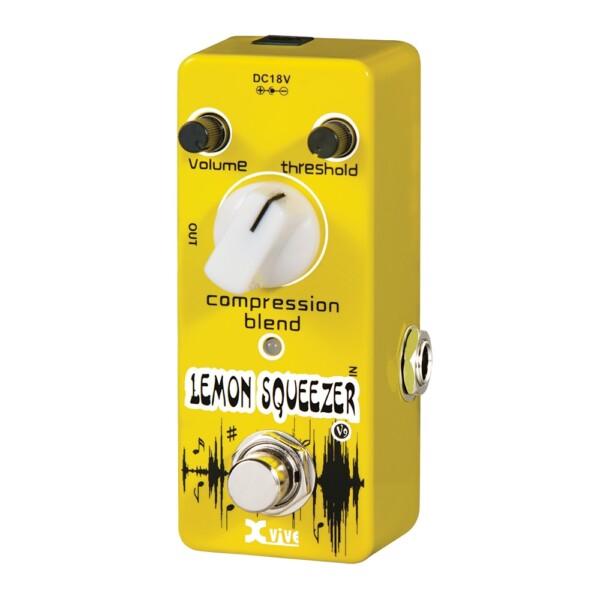 XVive V9 Lemon Squeezer Compressor Micro Pedal