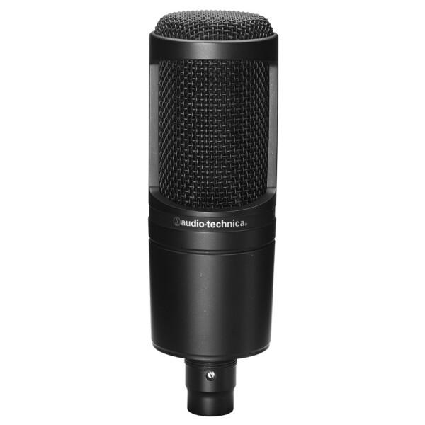 Audio Technica AT2020 Large Diaphragm Condenser Mic