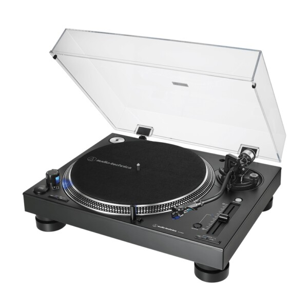 Audio Technica LP140X Professional Direct Drive Manual Turntable, Black