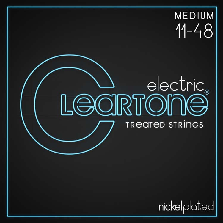 Cleartone Nickel-Plated Electric Strings, Medium 11-48