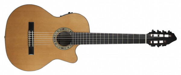 Kremona The Performer Series, Fiesta F65CW-7S, 7 string Cutaway With Classic 3