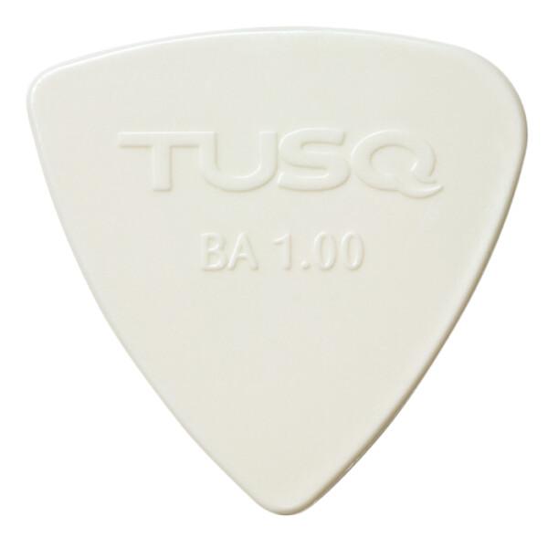 Graph Tech TUSQ Bi-Angle Pick 1.00mm, Bright, White