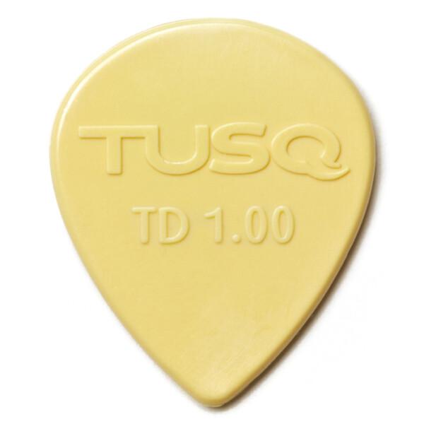 Graph Tech TUSQ Tear Drop Pick 1.00mm, Warm, Vintage White