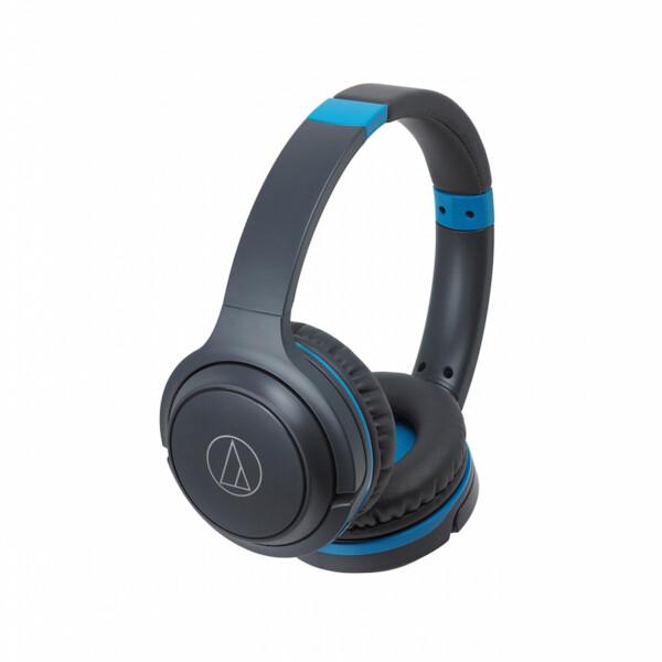 Audio Technica S200BTGBL Wireless Headphones Grey Blue