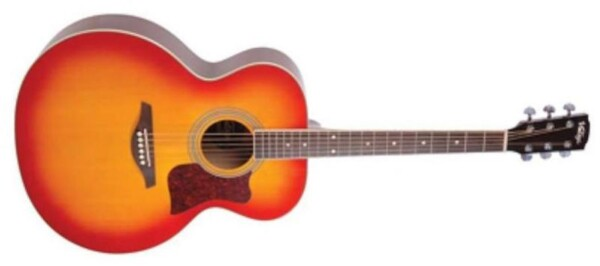 Vintage VJ100CSB Super Jumbo Acoustic Guitar