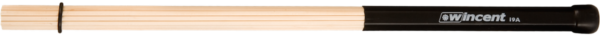 WINCENT 19 birch rods, short handle