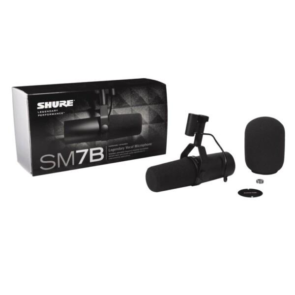 Shure SM7B Studio Dynamic Microphone
